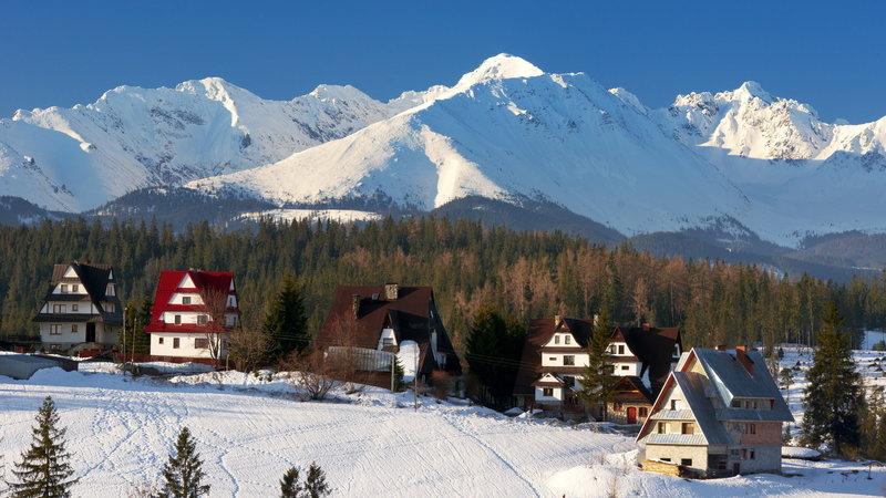 Зимний отдых и горные лыжи в Польше и Словакии 1января, 26 января 2019